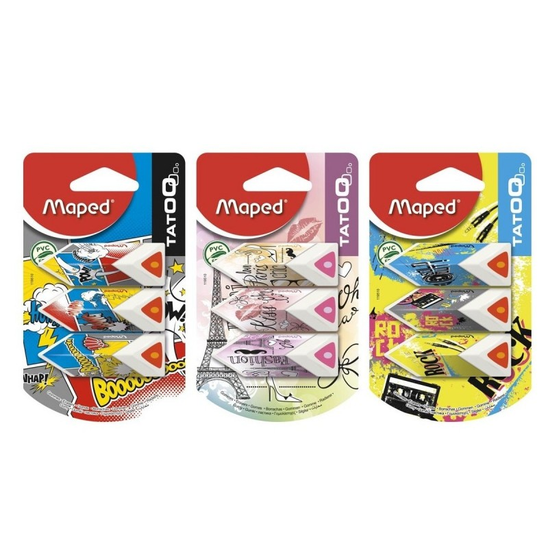 GOMME PYRAMIDE BLS 3 COUL MAPED 119510