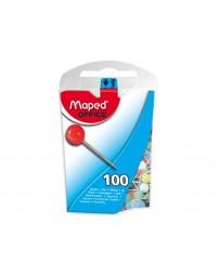 BOITE DE 100 EPINGLES MEMO 5MM REF 346011 MAPED