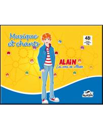 CAHIER DE MUSIQUE ET CHANT ALADIN