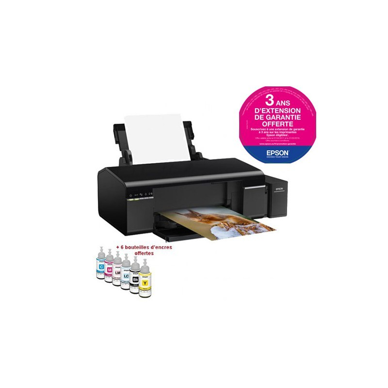 Imprimante Photo EPSON L805 Couleur - Wifi