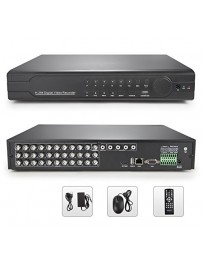 DVR 16 PORT+ 4 AUDIO +PTZ H.264 NETWORK 30-5