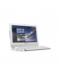"PC de Bureau LENOVO All-In-One S200Z Celeron Dual Core J3060 19.5"" 4Go 500Go - Blanc (10K5001KFM)"