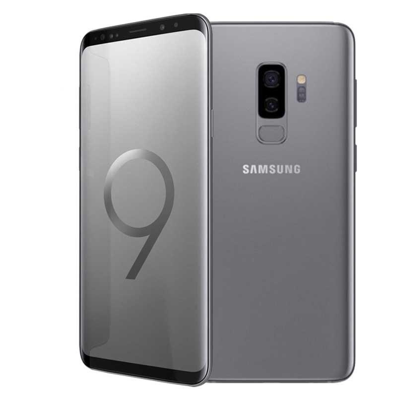 samsung galaxy s9 plus 4g gris chargeur sans fil alarabia informatique. Black Bedroom Furniture Sets. Home Design Ideas