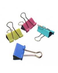 BINDER CLIP COULEUR 4PCS 1-82 EN BLISTER CB5450