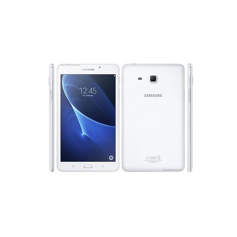 tablette samsung galaxy t285 tab a6 7 4g blanc alarabia informatique. Black Bedroom Furniture Sets. Home Design Ideas