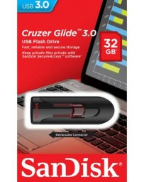FLASH DISQUE 32GB CRUZER GLIDE SANDISK 3.0