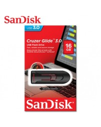 FLASH DISQUE 16GB CRUZER GLIDE SANDISK SDCZ600-016G-G35