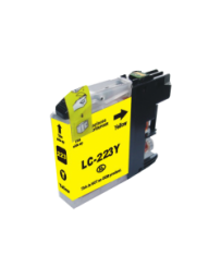 CARTOUCHE BROTHER ADAPTABLE LC223 YELLOW PRINT PRO