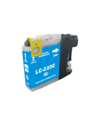 CARTOUCHE BROTHER ADAPTABLE LC223 CYAN PRINT PRO