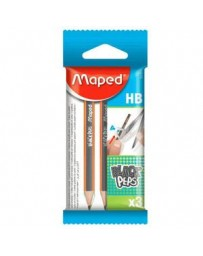 BLS 2+1 CRAYON GRAPHITES HB MAPED 850016
