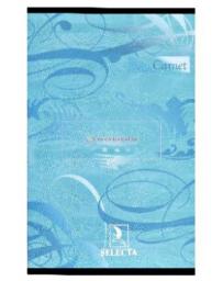 CARNET K.TE 11X17 100P 5/5 SELECTA