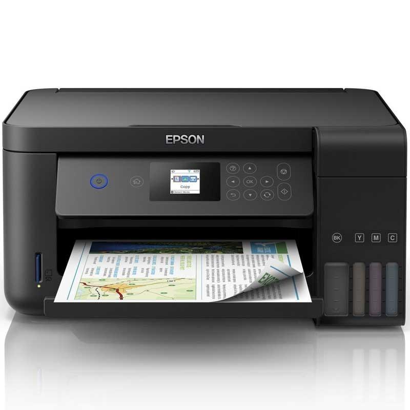 Imprimante Jet d'Encre à Réservoir Intégré EPSON ECOTANK ITS L4160 3En1 Couleur (C11CG23402)