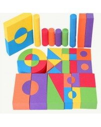 FUN FOAM BLOCKS 50PCS