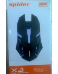 SOURIS X3 SPIDER GAME LIGHT