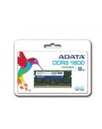 Barette Mémoire ADATA 8Go DDR3 1600MHz SODIM