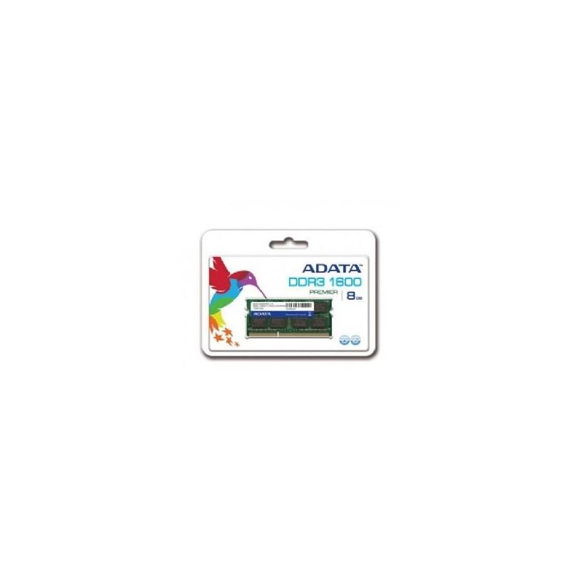 Barrette Mémoire ADATA 8Go DDR3L pour Pc Portable