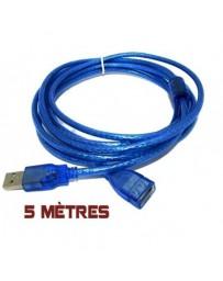 CABLE RALLONGE USB 5M 2.0 HIGH QUALITY