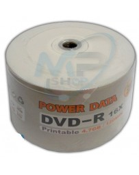 BOBINE DVD-R IMPRIMABLE POWER DATA 4.7GB/120MIN