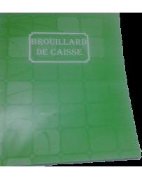 CAHIER BROUILLARD DE CAISSE