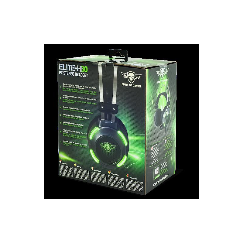 Micro Casque Gaming SPIRIT OF GAMER Elite-H30