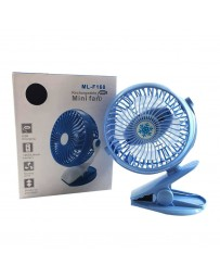 VENTILATEUR MINI RECHARGE USB REF ML-F168