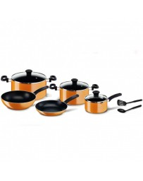 Set 10 Pièces TEFAL Prima B168A474 Orange