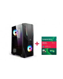 PC DE BUREAU GAMER SPIRIT 3 ULTRA I3 10320 8Go 240GO SSD + KASPERSKY