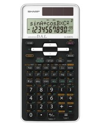CALCULATRICE SHARP EL-506TSB-WH
