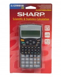 CALCULATRICE SHARP EL-531WHB-BK