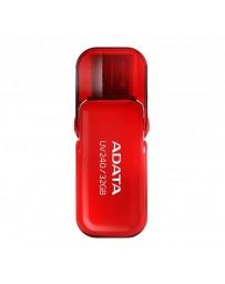 FLASH USB ADATA 32G UV240 ROUGE