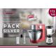 Pack Robot pâtissier KENWOOD + Blender PRINCESS + Mixeur Handy EVERTEK
