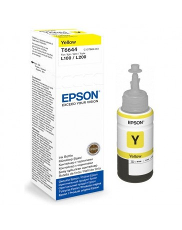 Bouteille d'encre Epson T6644 Yellow 70ml