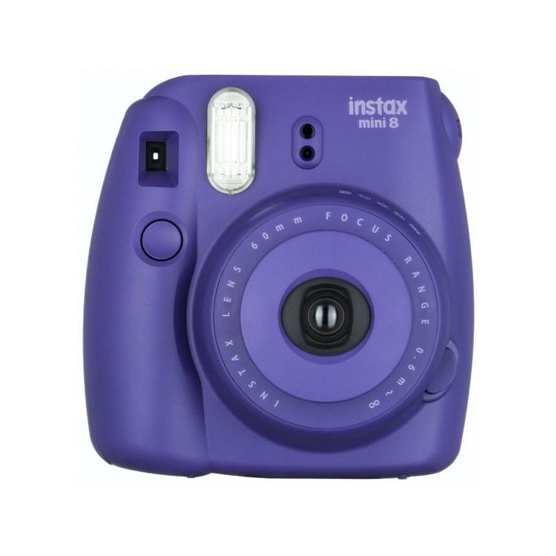 Appareil photo à impression instantanée Fujifilm Instax Mini 8 / Violet + 10 Films + Etui