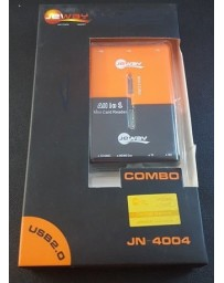 HUB USB 3 PORT JEWAY ALL IN ONE JN-4004