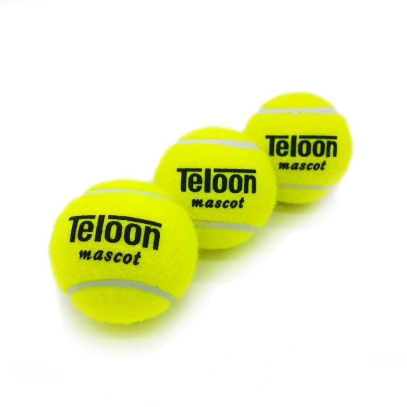 3 Balles de Tennis Telon Mascot