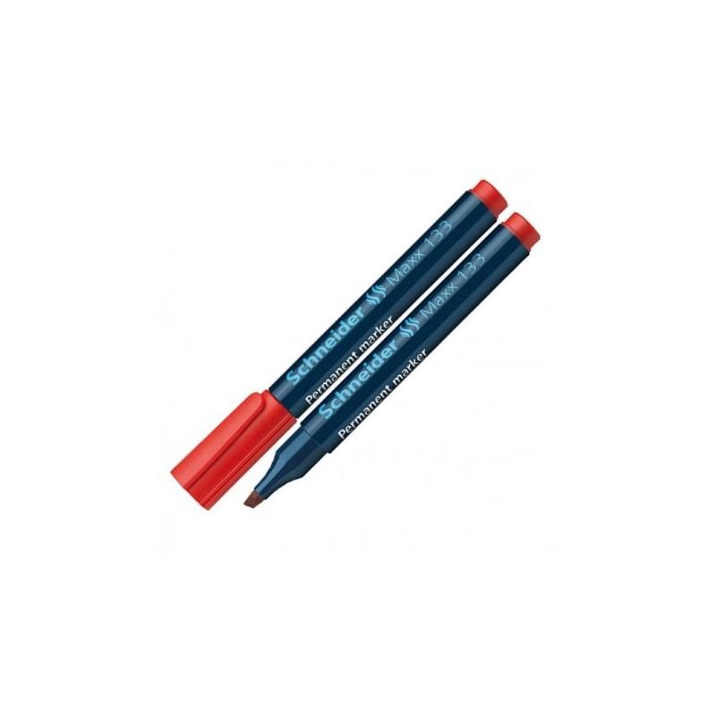 Marqueur Permanent Schneider Maxx 133 -Rouge