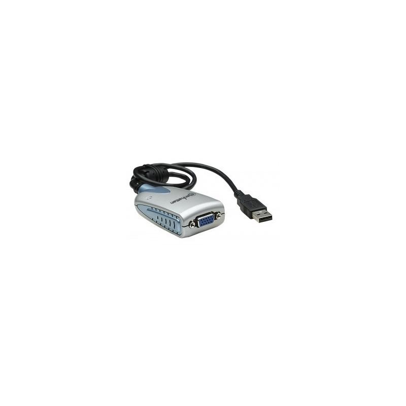 Convertisseur USB 2.0 à VGA MANHATTAN