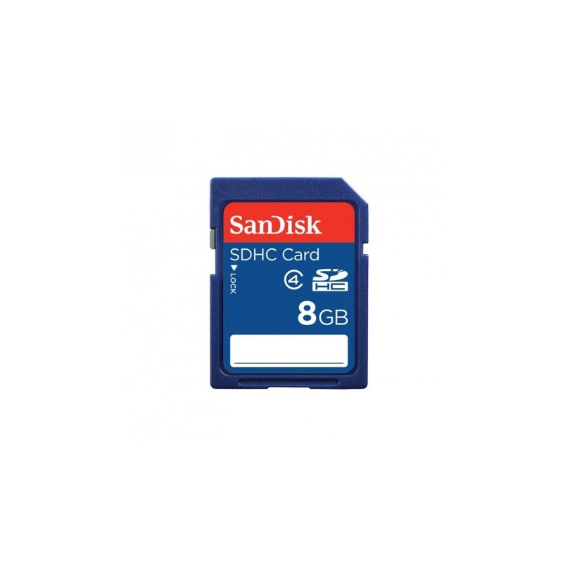 Carte Mémoire SDHC SANDISK 8Go B35