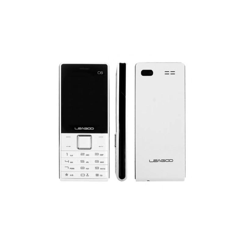 Téléphone Portable LEAGOO C6 - Blanc