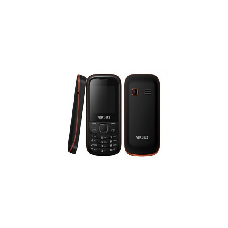 Téléphone Portable Versus Pixou Noir & Jaune