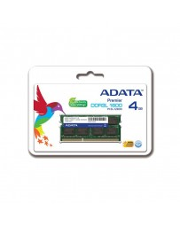 Barrette Mémoire ADATA 4Go DDR3 pour Pc Portable-Low Voltage