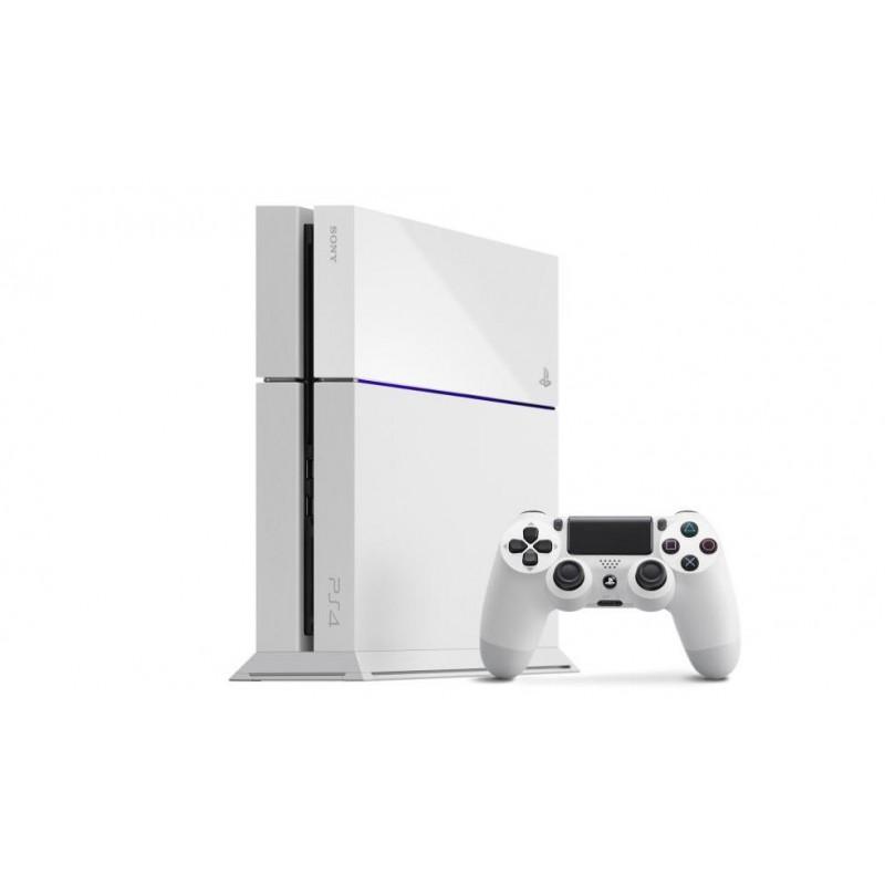 Console PS4 500 Go Blanche