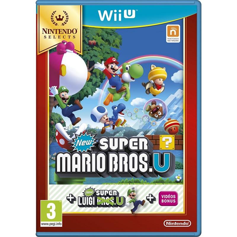 Jeu New Super Mario Bros. U