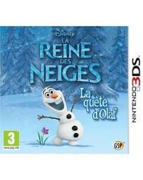 Jeu La Reine des Neiges 3DS