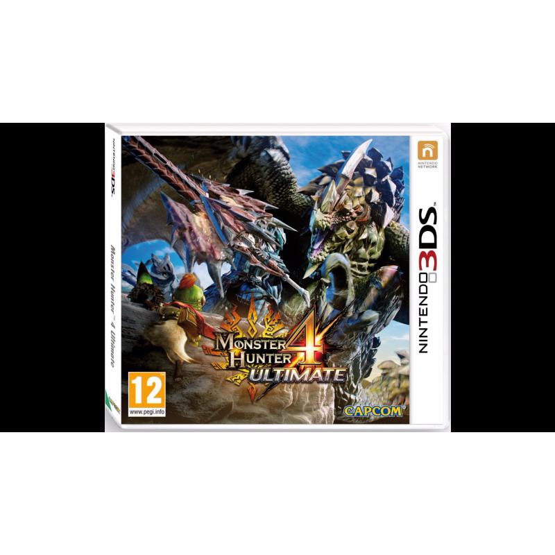 JEU 3DS NINTENDO MONSTER HUNTER 4 ULTIMATE