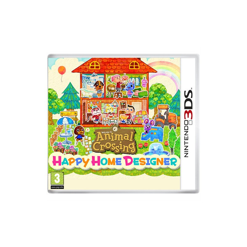 Jeu Nintendo 3DS Animal Crossing : Happy Home Designer