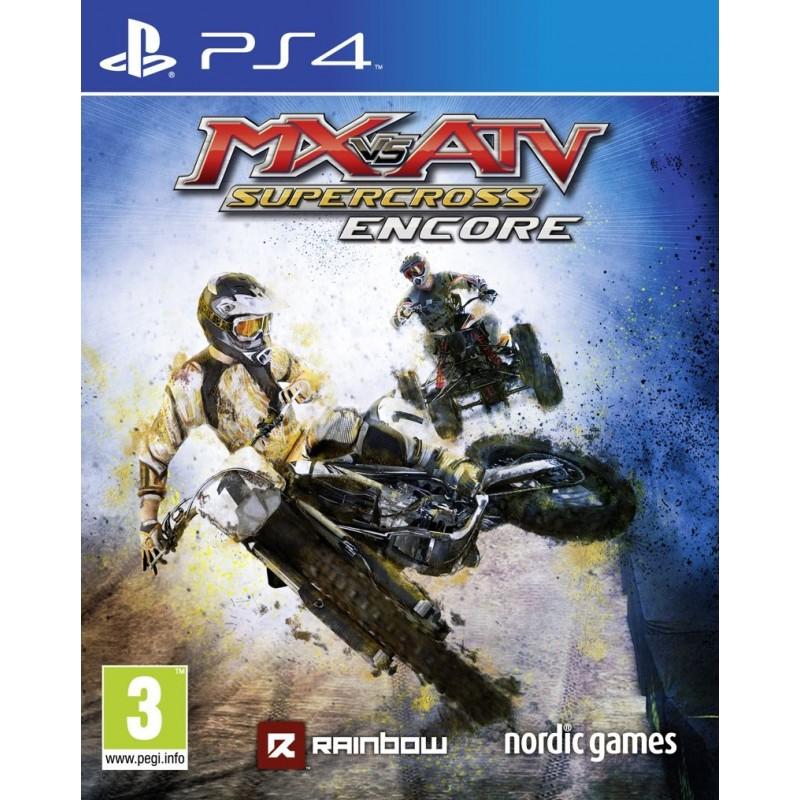 Jeu PS4 MX vs ATV - Supercross Encore