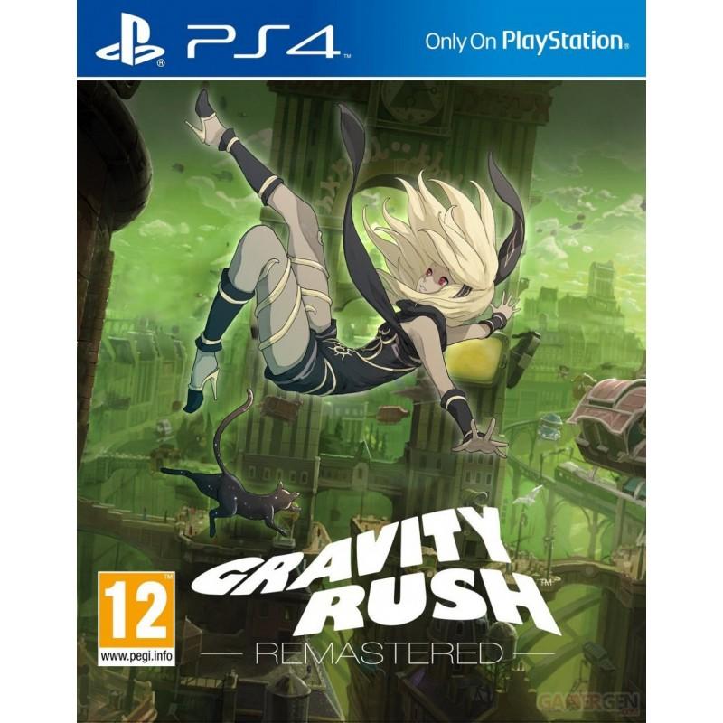Jeu PS4 Gravity Rush : Remastered
