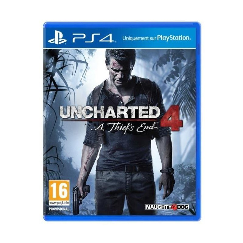 Jeu PS4 Uncharted 4 : A Thief's End
