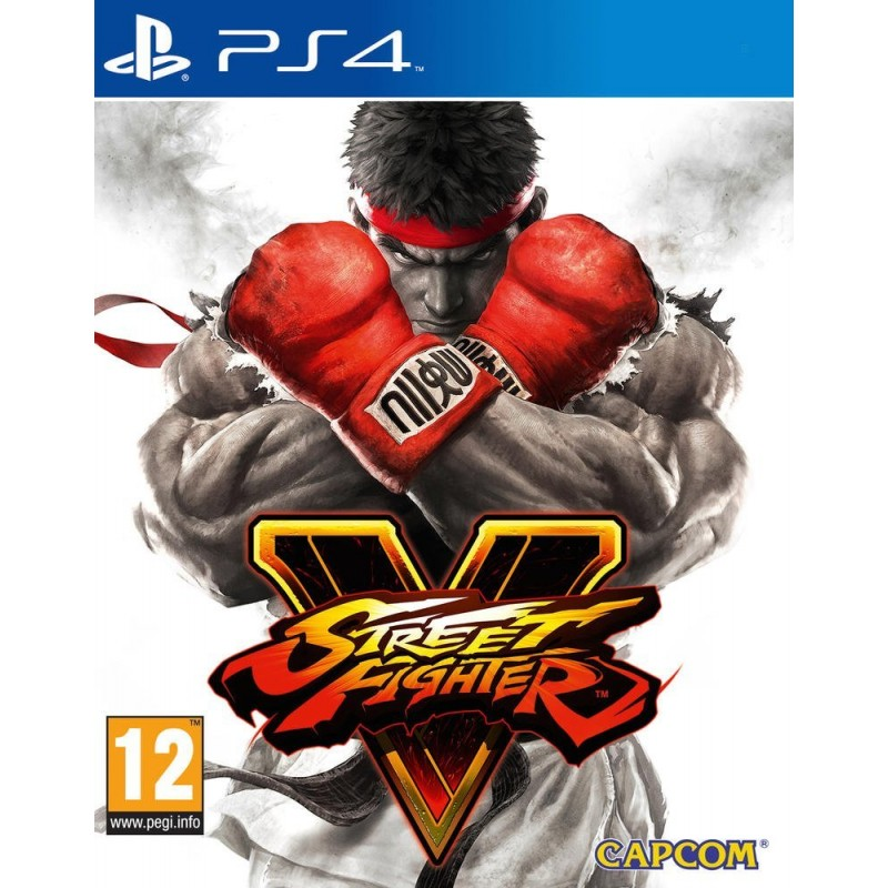 Jeu PS4 Street Fighter V